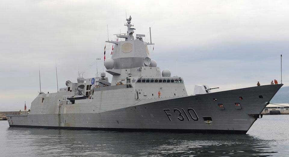 Royal Norwegian Navy HNoMS Fridtjof Nansen (F310) is a