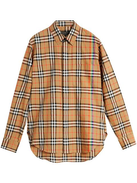 Check Rainbow Vintage Stuff 136 Burberry ShirtCool bfy6Y7g