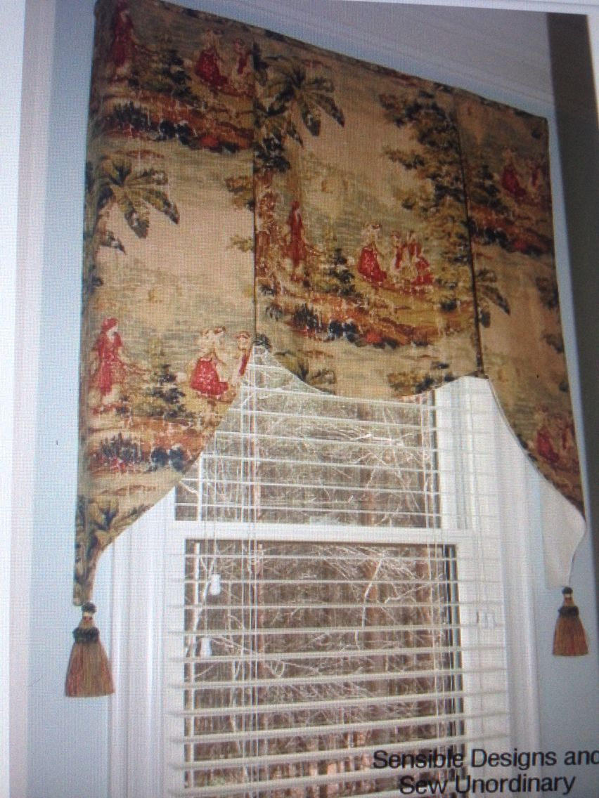 Twile Fabric Valance Window Treatment Styles Custom Window