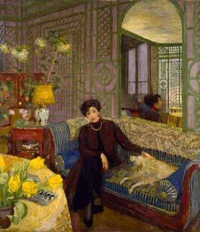 Madame Tristan Bernard.  Edouard Vuillard, French, (1868-1940). Just incredible this.