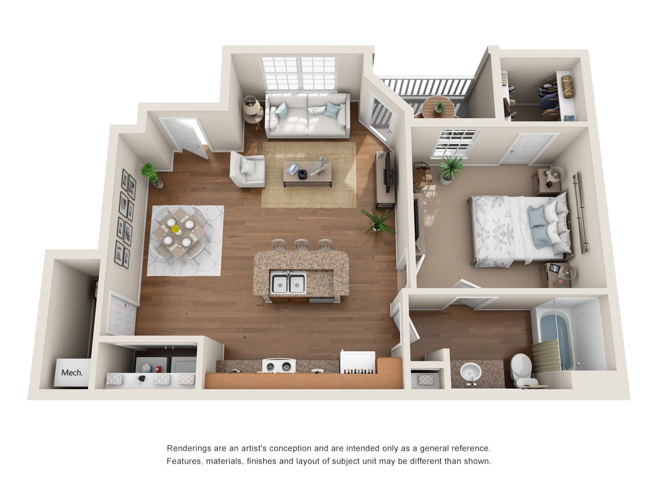 Studio, One, Two and Three Bedroom Apartments in Antioch