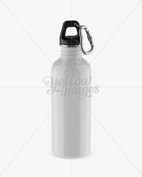 Download 500ml Glossy Sport Bottle With Carabiner Mockup High Angle Shot In Bottle Mockups On Yellow Images Object Mockups Bottle Mockup High Angle Shot Design Mockup Free