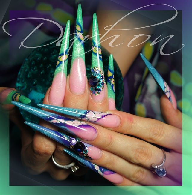 Avatar Nail Art Gallery Cool Nail Art Pinterest Nail Art