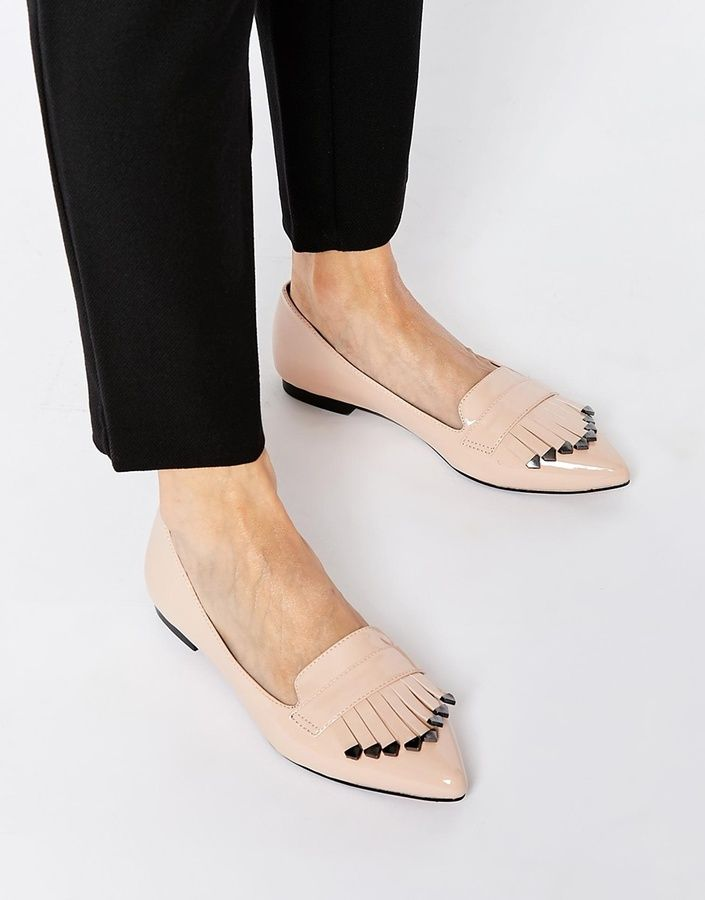 6d541bf7ed29 Trending On ShopStyle - Asos MELLOW Flat Shoes - ShopStyle Women ...