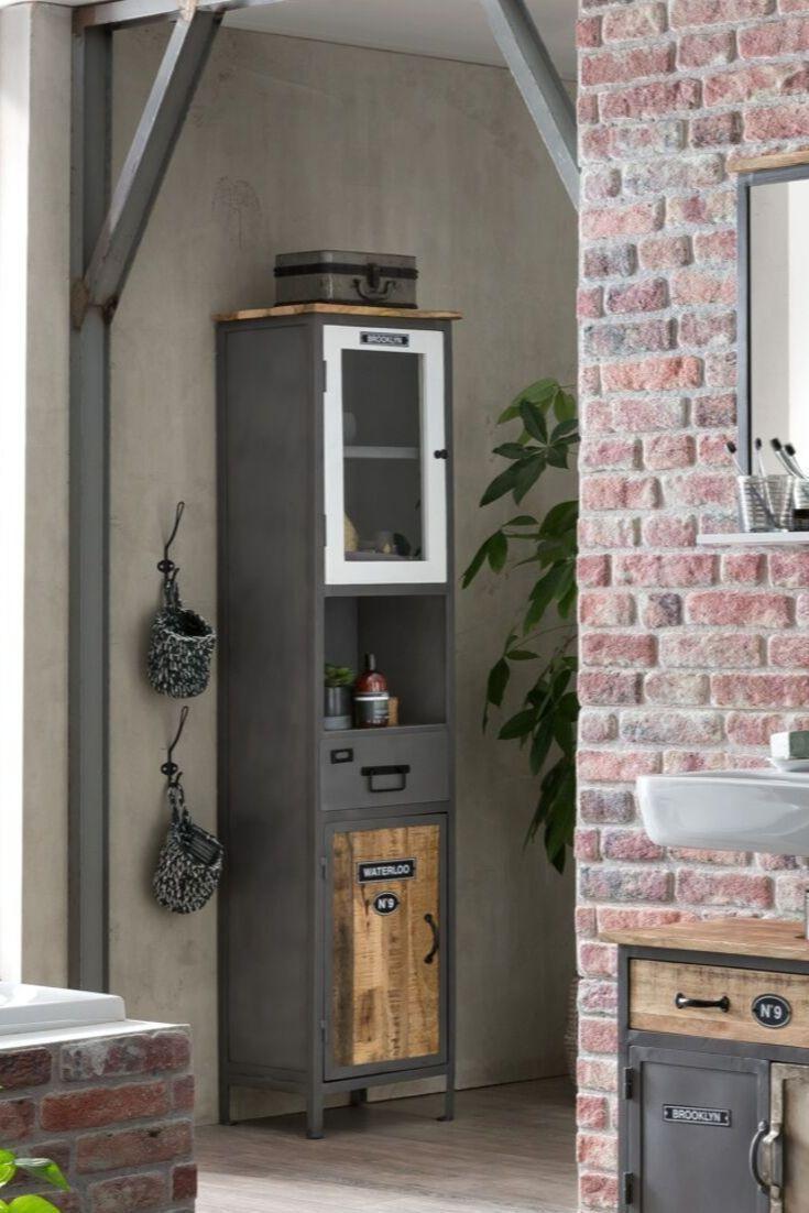 Weiss Grau Holz Ein Werkstatt Unikat Ist Jedes Unserer Mobelstucke So Oder So Doch Die Badsch Badsch Die Doch Ein Gra Mobelstuck Badschrank Holz