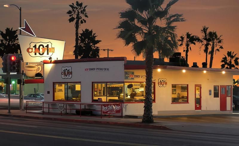 Historic 101 Cafe Opened 1928 Oceanside Ca Great Food Always