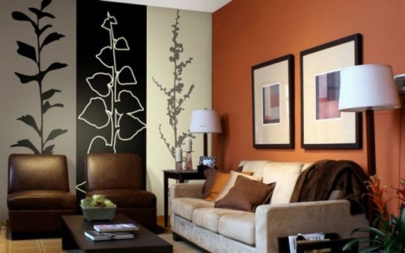 Modern Bedroom Paint wall painting in home - interior design