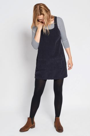 outlet boutique unequal in performance latest trends of 2019 FatFace Navy Dedee Cord Pinafore Dress | Fashion Inspiration ...