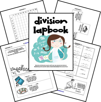 FREE Division Lapbook | Division, Math and Homeschool