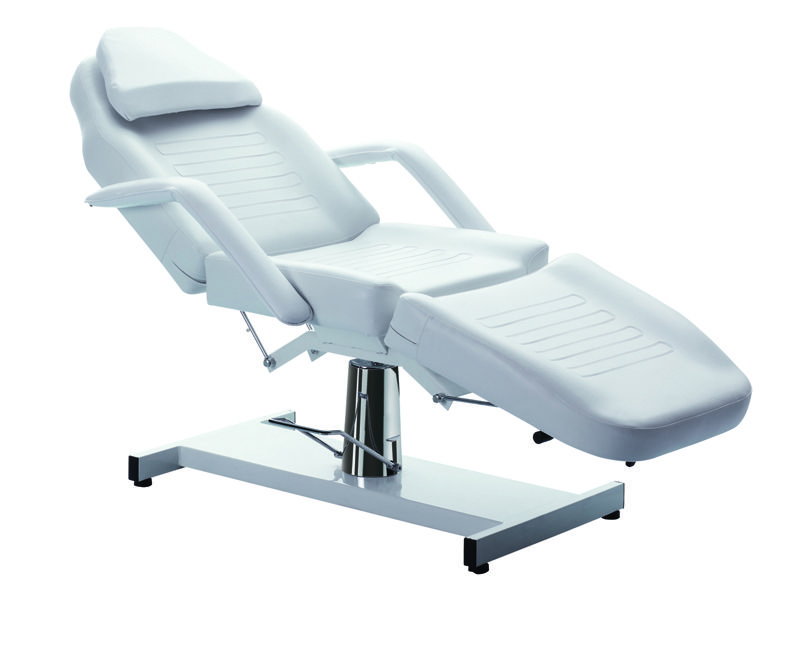 hydraulic chair with stool (facial bed, massage table) :: facial
