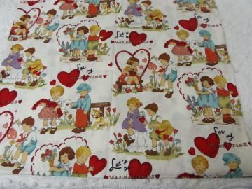Valentine Fabric Alexander Henry Retro Valentine By