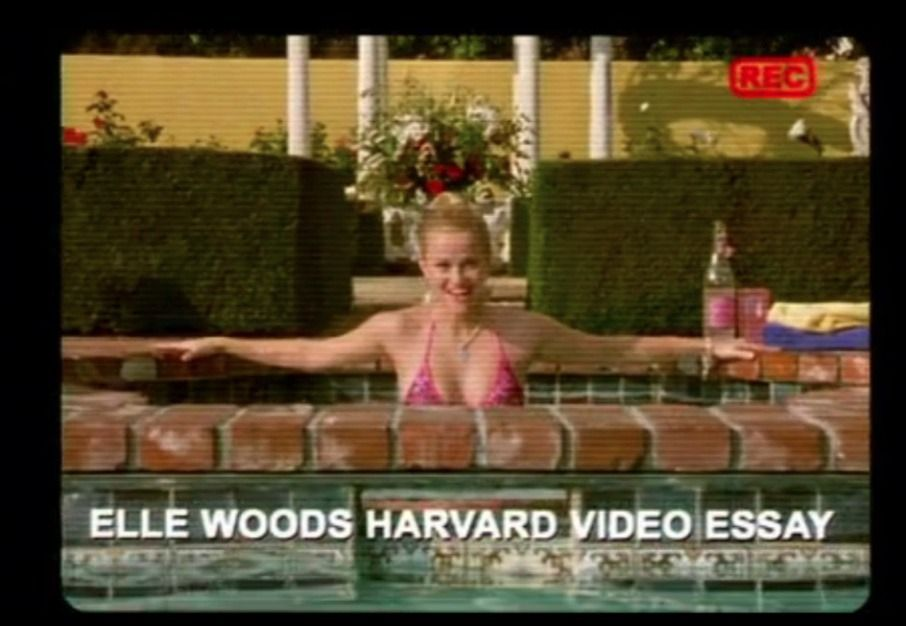 Harvard Video Essay ... Elle Woods . Part 71