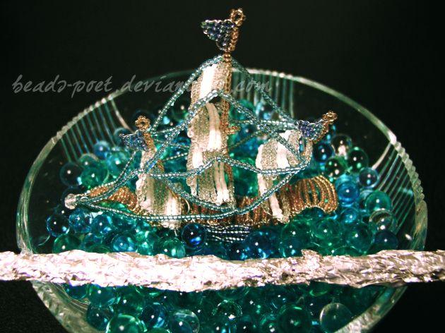 Boat by beads-poet.deviantart.com on @DeviantArt