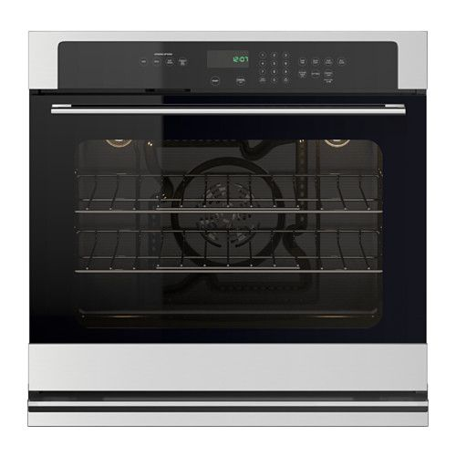 NUTID Self cleaning convection oven, Stainless steel IKEA
