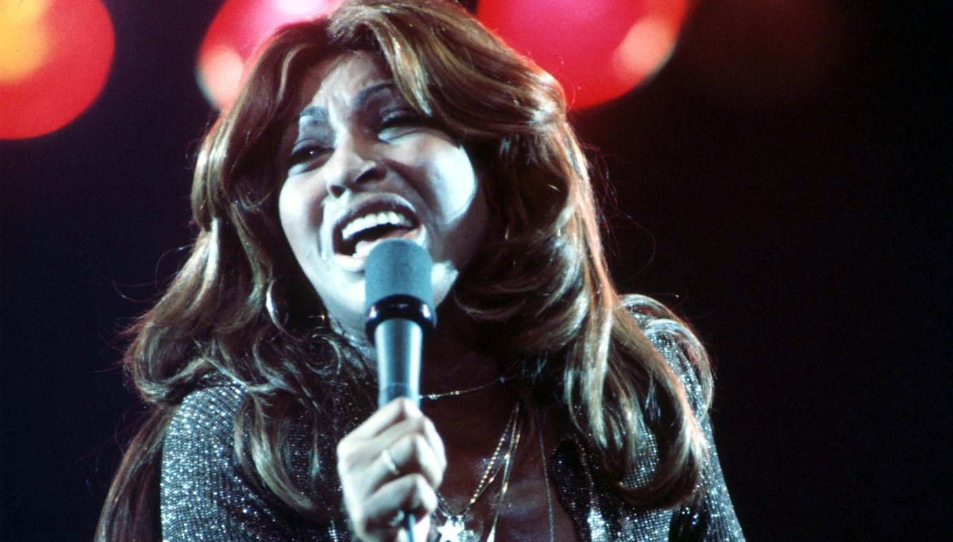 Tina Turner in the mid 70's.