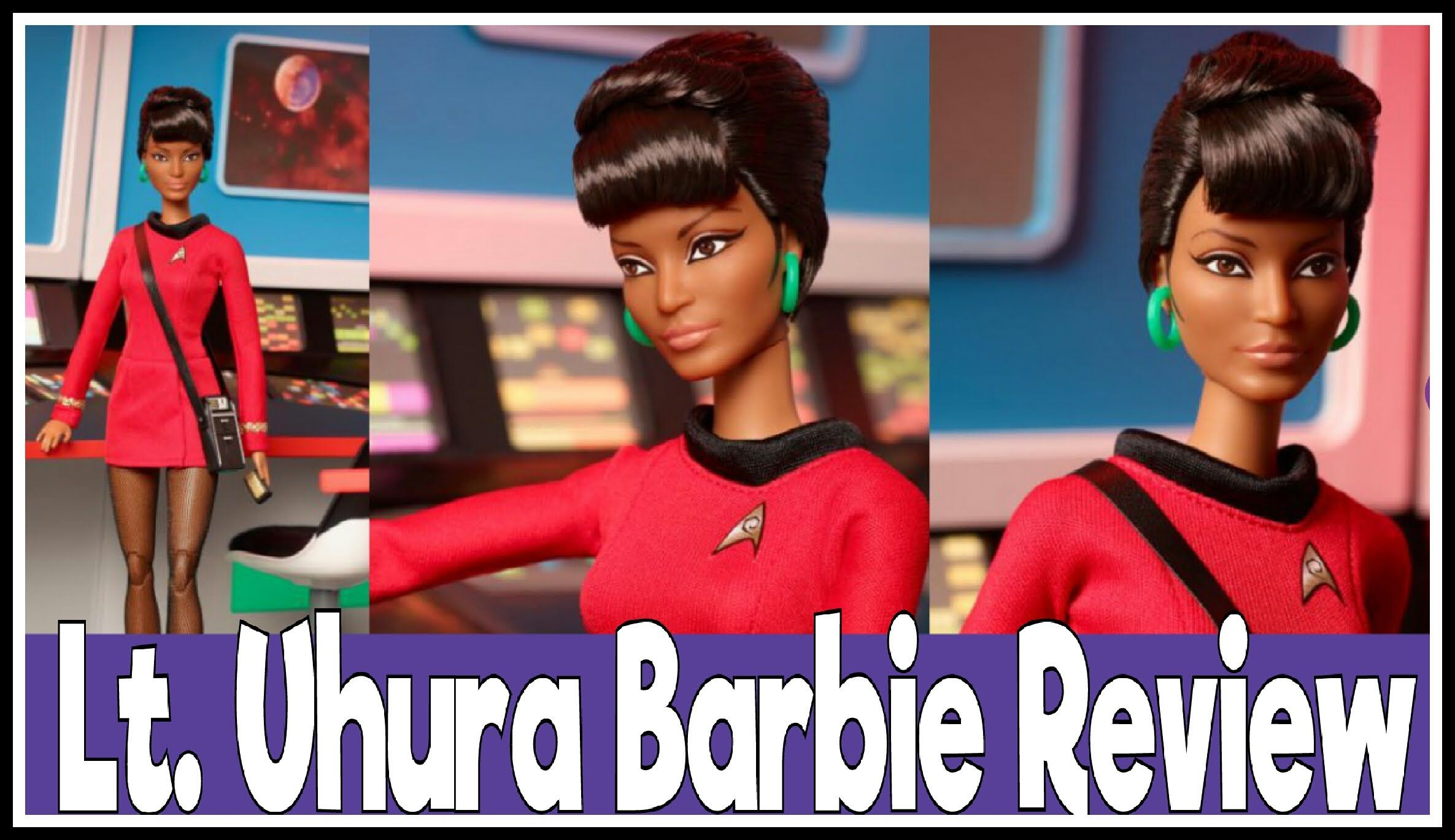 The barbie doll turns