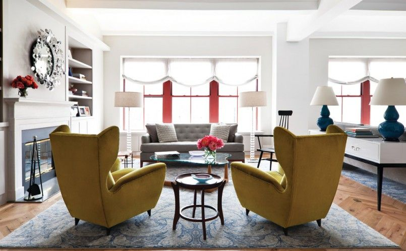Moroccan Living Room Furniture Modern Wing Chair Furniture Ideas Living Room  990x612