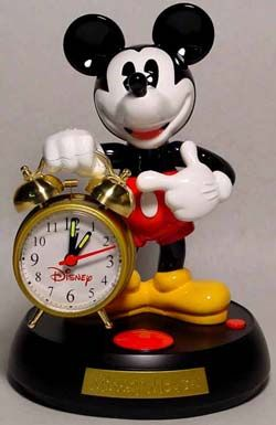 Mickey Mouse Talking Alarm Clock