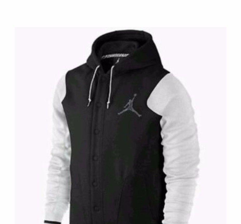 Mens Nike Jordan Varsity Black Jacket