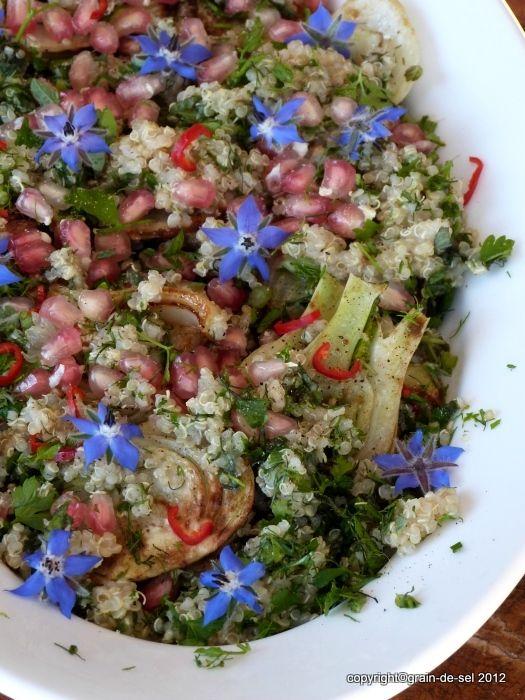 grain de sel - salzkorn: Quinoa
