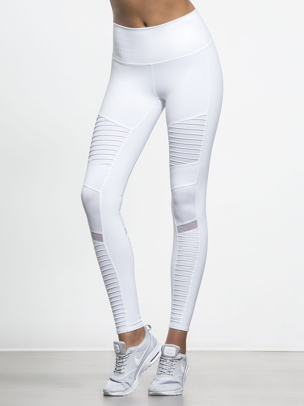 074be85151e8b High Waisted Moto Legging | For the fashionista in me! | Mesh yoga ...