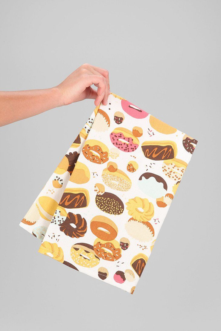Donut Dish Towel Donut Kitchen Decor Dish Towels Donut Kill My Vibe