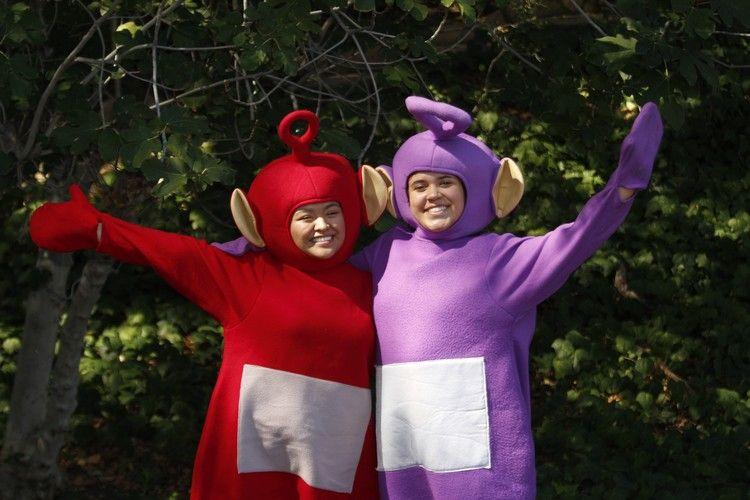 Kindheitshelden Ideen abitur mottowoche kindheitshelden ideen teletubbies kostüme