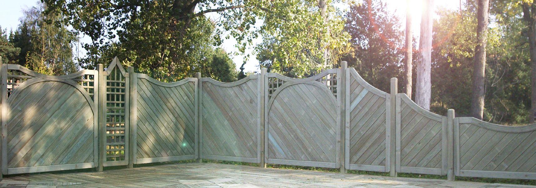 Sichtschutzzaun siena durch die vielen kombinierbaren for Sichtschutzzaun sina