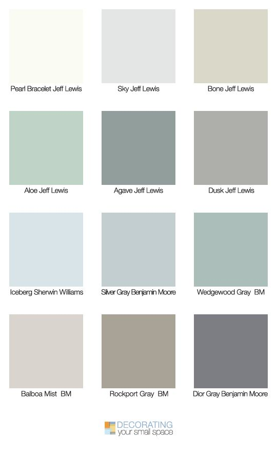 Tips & Ideas on the new neutral decorating colors