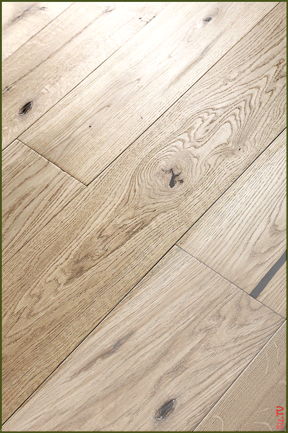 Hardwood Floor Contemporary Decoration White Oak Engineered