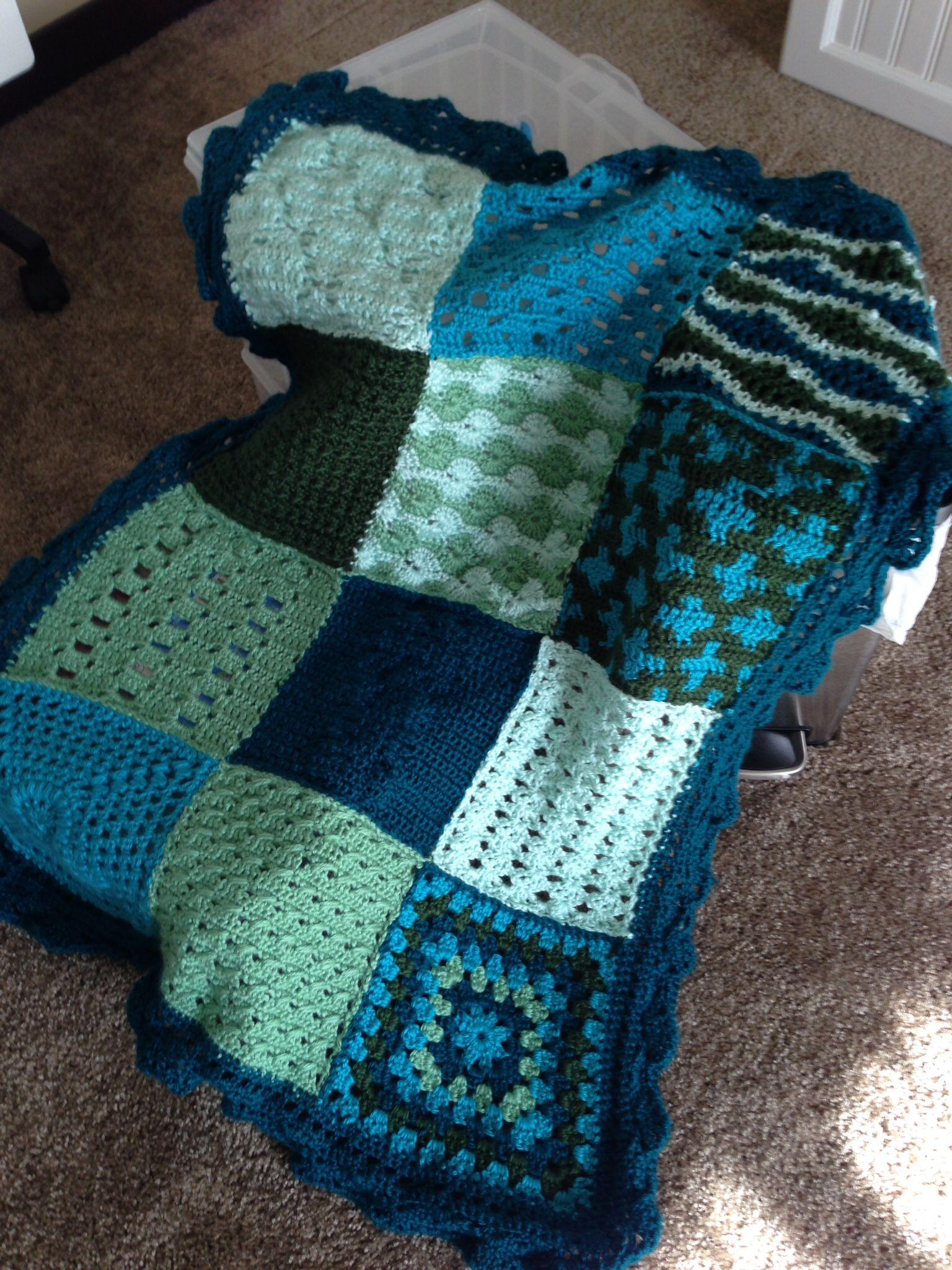 Crochet sampler afghan free pattern from redheart my crochet sampler afghan free pattern from redheart bankloansurffo Gallery