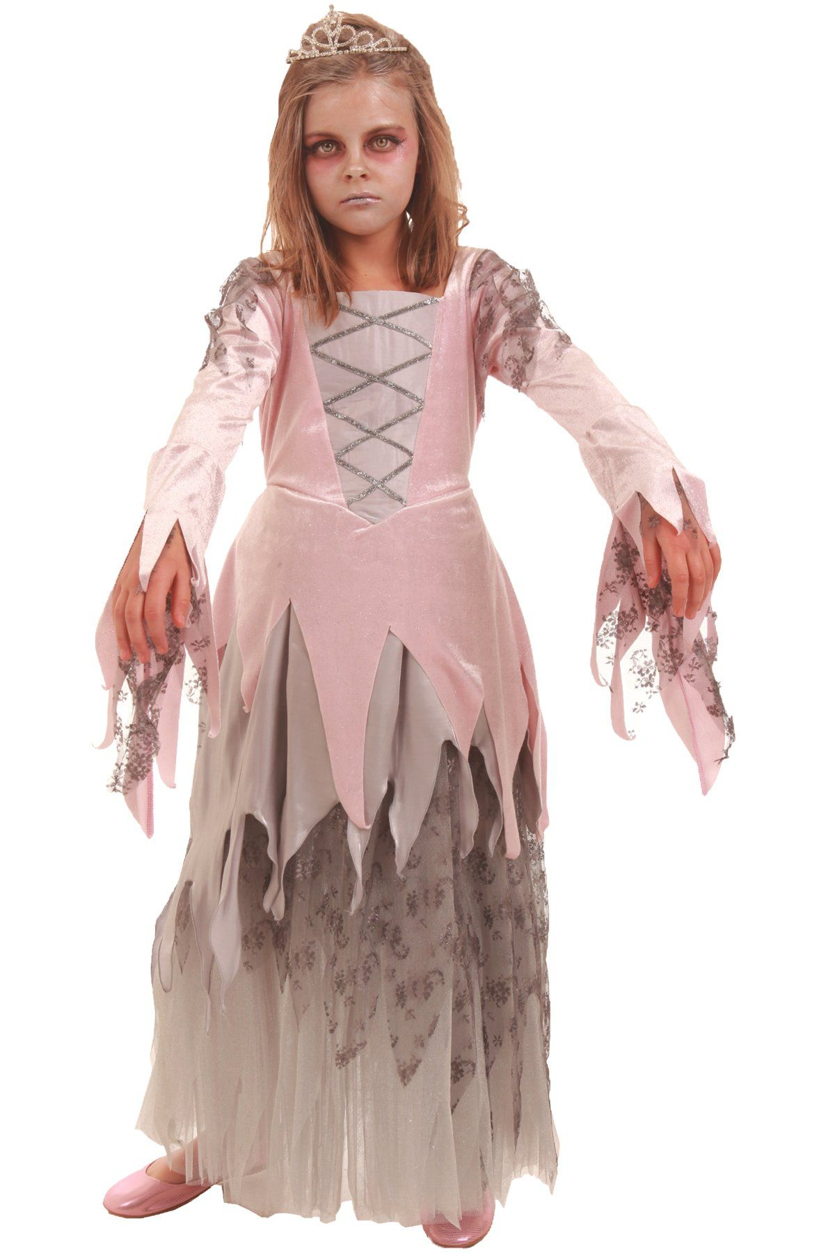 Amazon.com: Children\'s Zombie Princess Costume- Size Large (9-10 ...