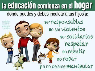 Fortalecer La Responsabilidad De Los Padres En La Educacion De Sus