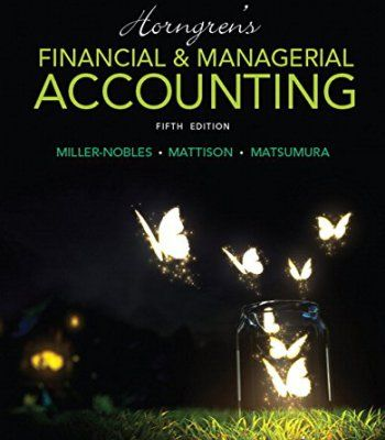 Horngrens financial managerial accounting 5th edition pdf horngrens financial managerial accounting 5th edition pdf fandeluxe Image collections