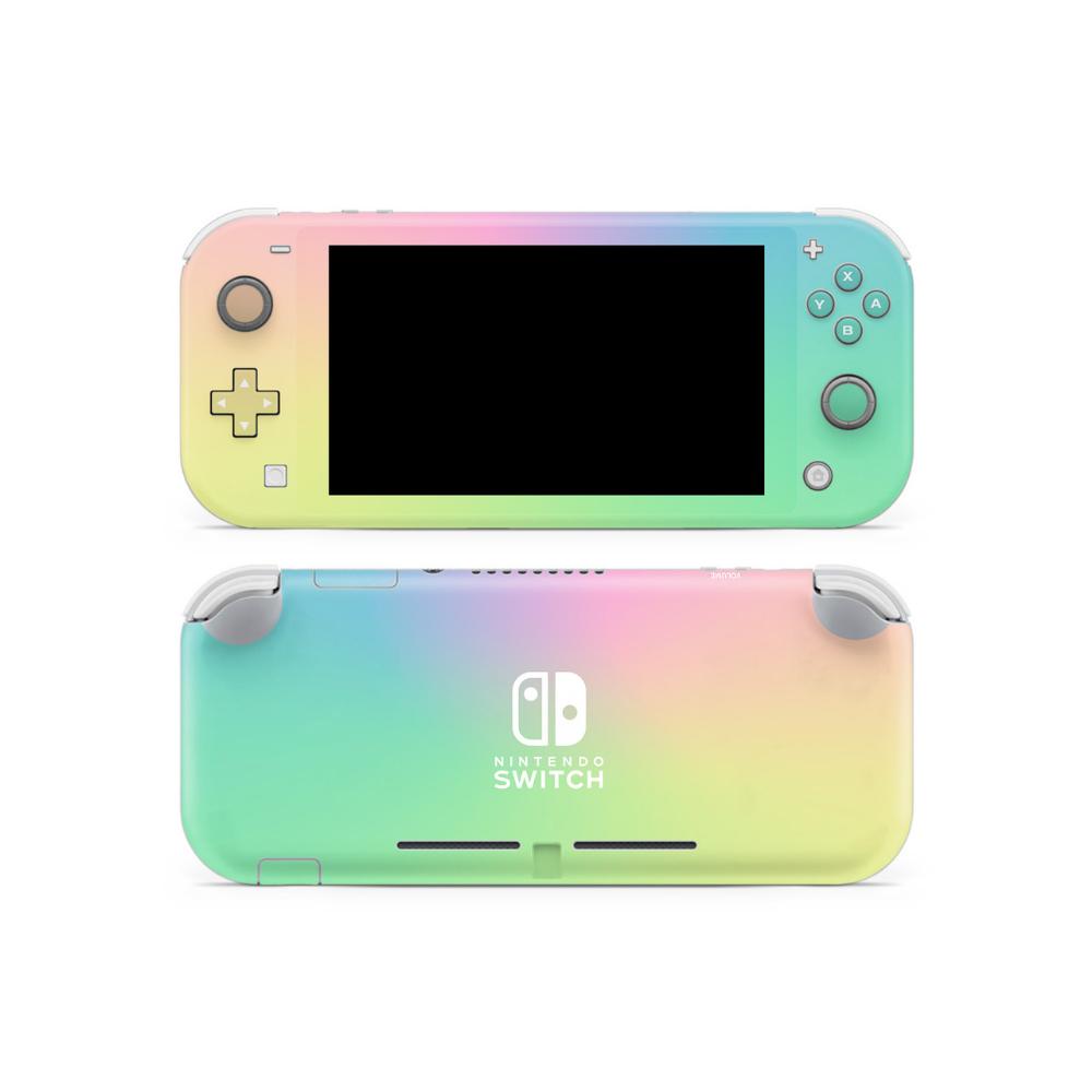 Pastel Ombre Nintendo Switch Lite Skin Nintendo Switch Nintendo Switch Accessories Nintendo Switch Case