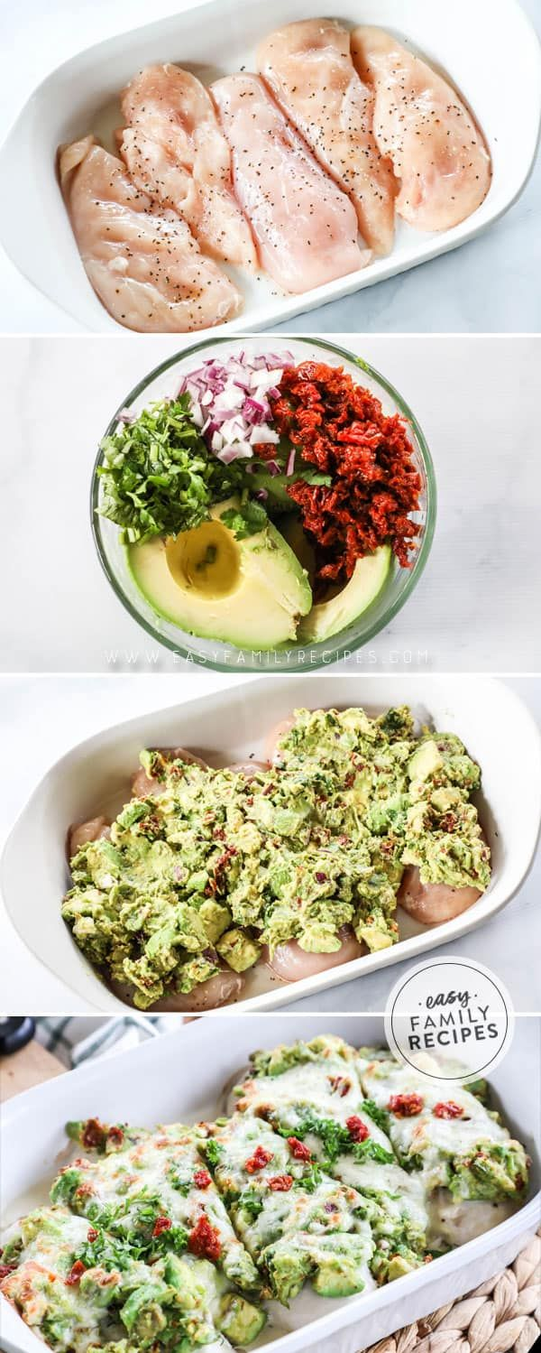 AMAZING Avocado Smothered Chicken · Easy Family Recipes