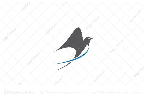 swallow logo graphic design typography logos cool logo swallow logo graphic design