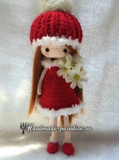 Куколка Златовласка. Амигуруми (5)