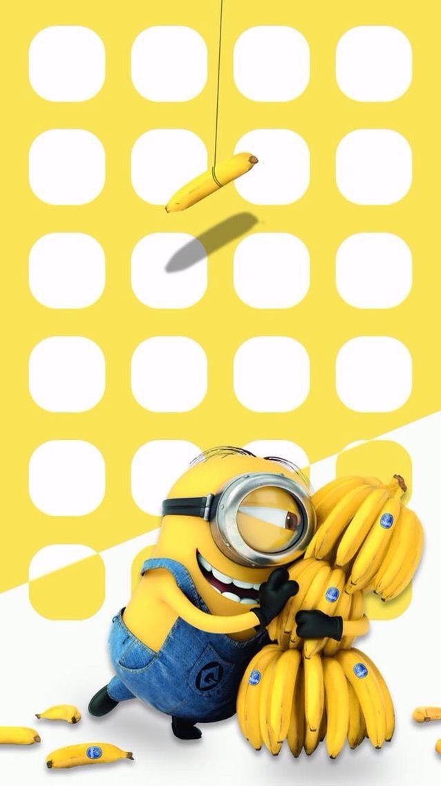 Minion Wallpaper Cute Wallpapers Pinterest Iphone Wallpaper