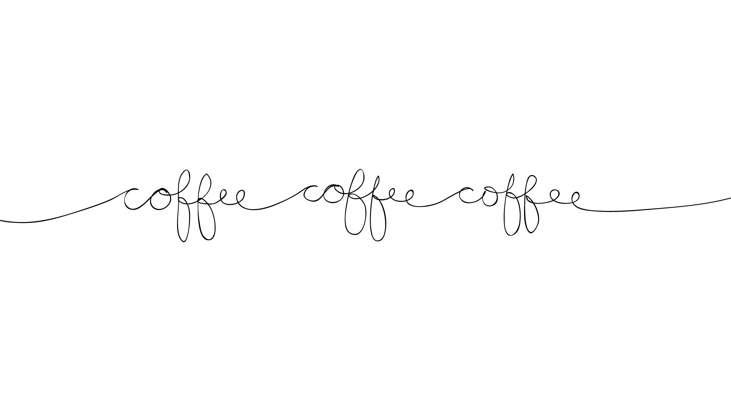 Coffee Minimalist Desktop Wallpaper Black 8927 2 560 1 440