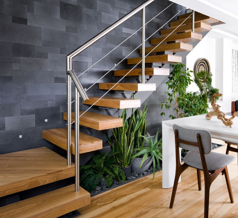 Suspended Style 32 Floating Staircase Ideas For The: I Am Going To Go Out On A Limb And State That This Is One