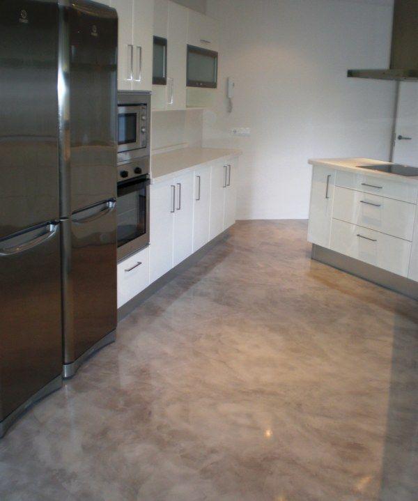 Hormigon impreso para interiores buscar con google suelos impresos de homigon pinterest - Microcemento para suelos ...