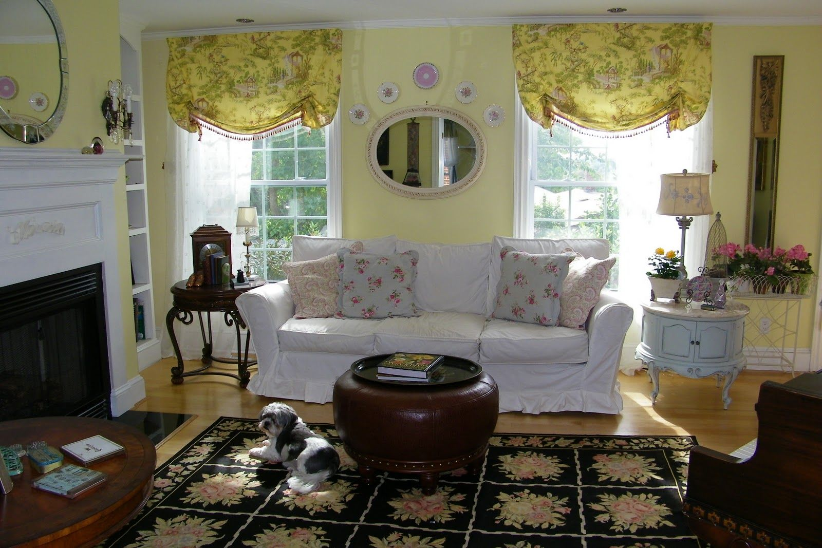 Pinterest Home Decor Ideas Country French Home - Room country living room decorating ideas