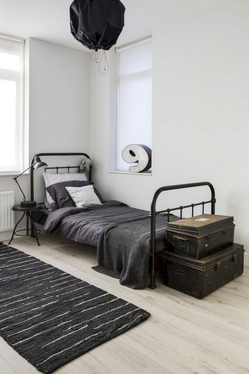 8+ Modern Style For Industrial Bedroom Design Ideas  Industrial
