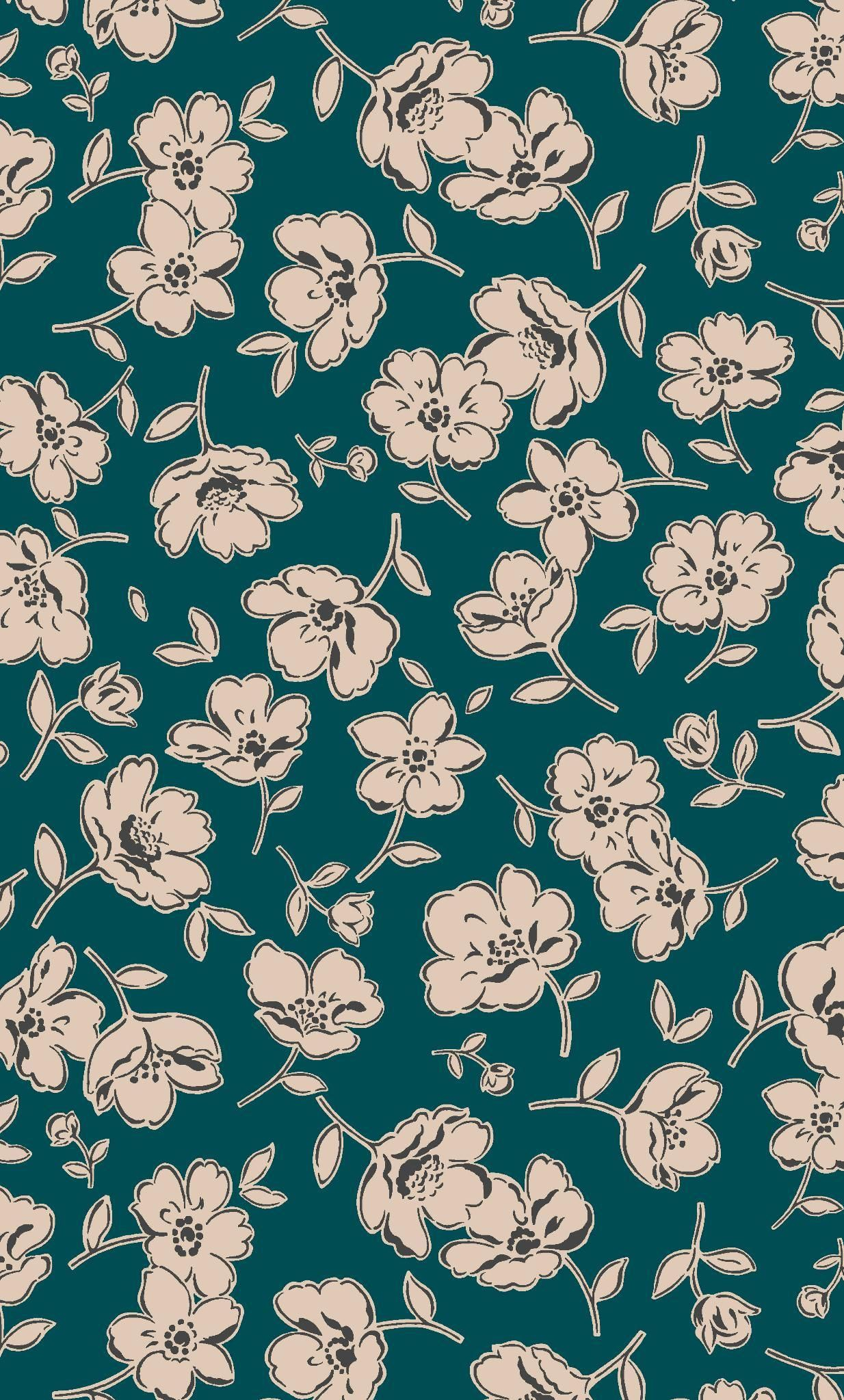 """Blossoms Wall Tapestry Fabric Wallpaper Home Decor,60""""Wx"""