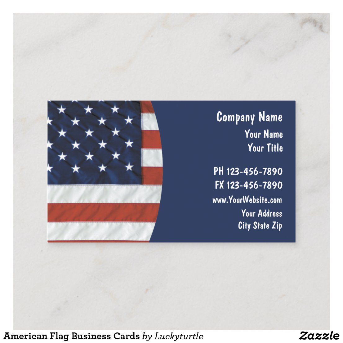 American Flag Business Cards Zazzle Com American Flag Business Card Template Design Printing Double Sided