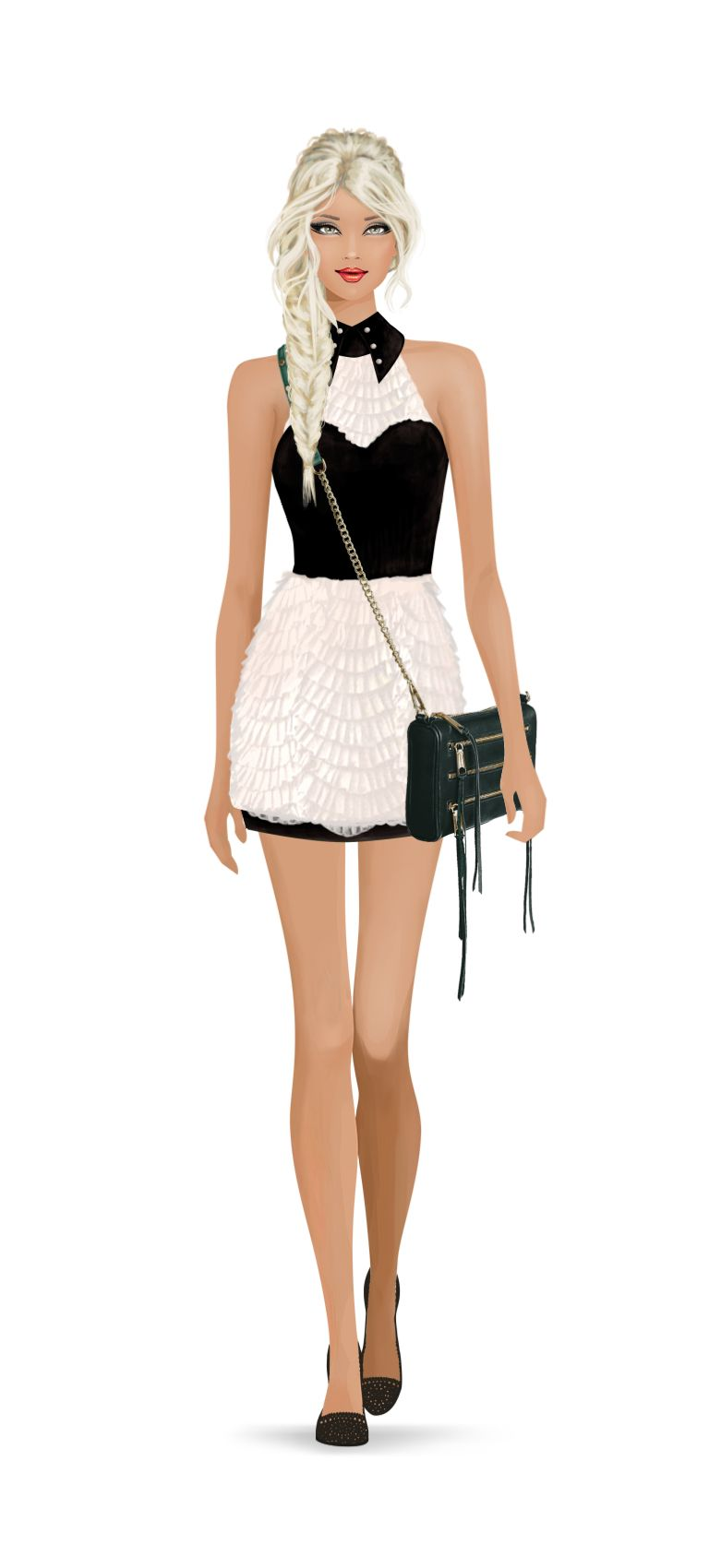 Won the Shopping on Rodeo Drive event with this fab outfit. #Covet