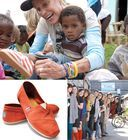 each pair of #TOMS shoes you buy, those childern will get a pair.