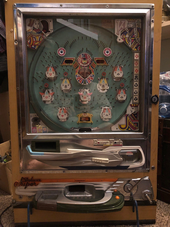 Vintage Pachinko Super Deluxe Power Flash Nishijin Machine