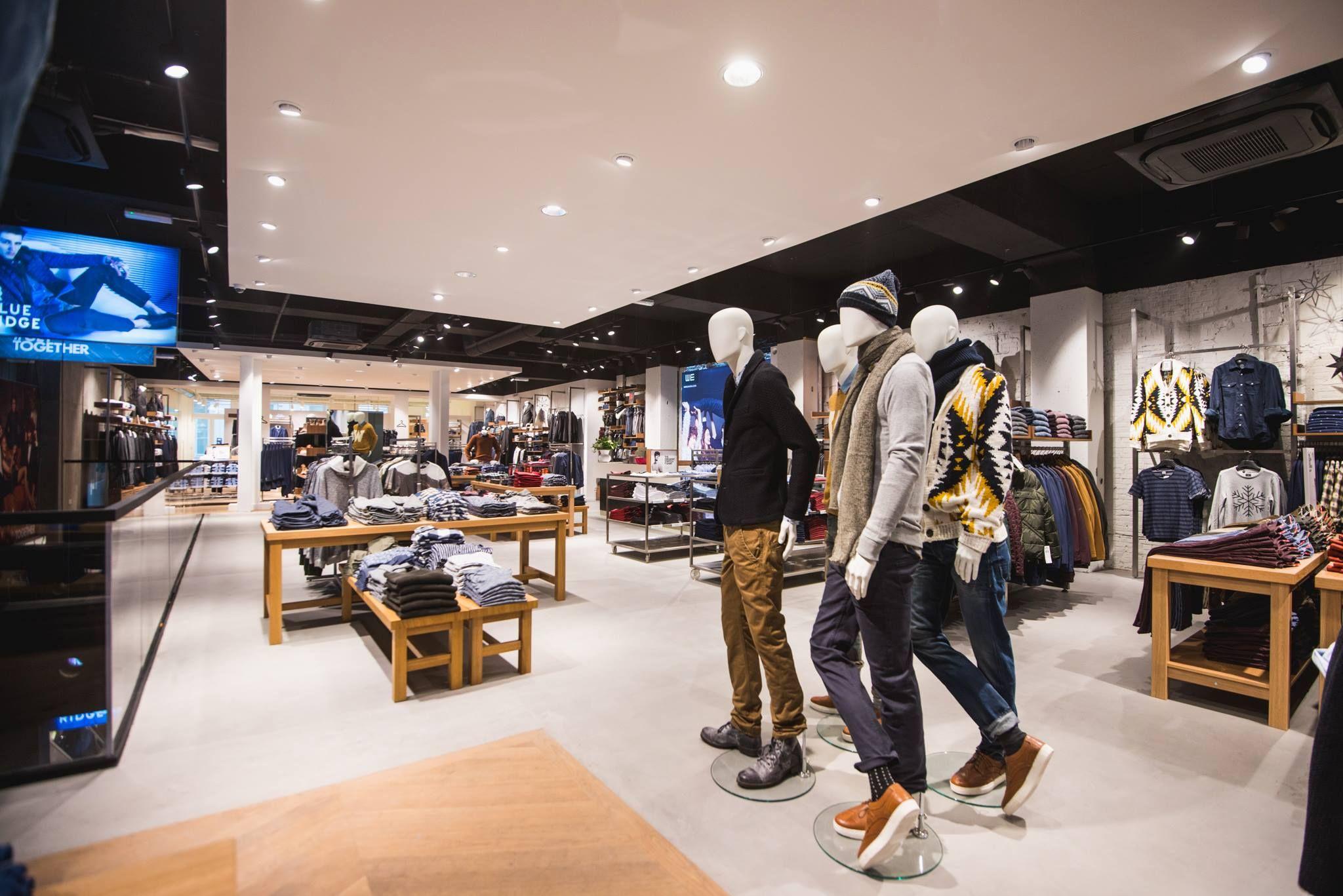 eurocol betondesign we fashion gent shop interior design
